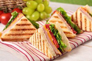 Un sandwich peut être équilibré!